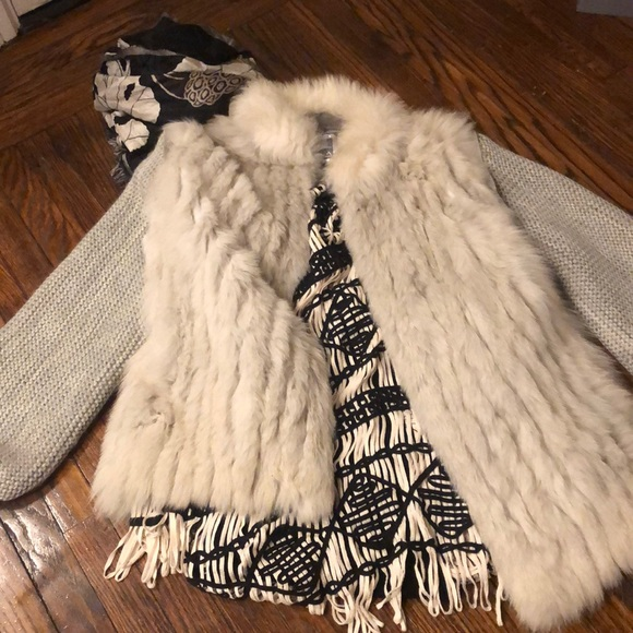 Saga Furs Jackets & Blazers - SAGA FOX Stroller/Vest Super Chic NWOTS